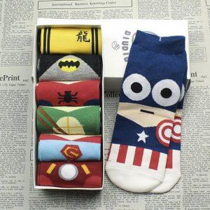 Superhero Socks (Pack of 7)